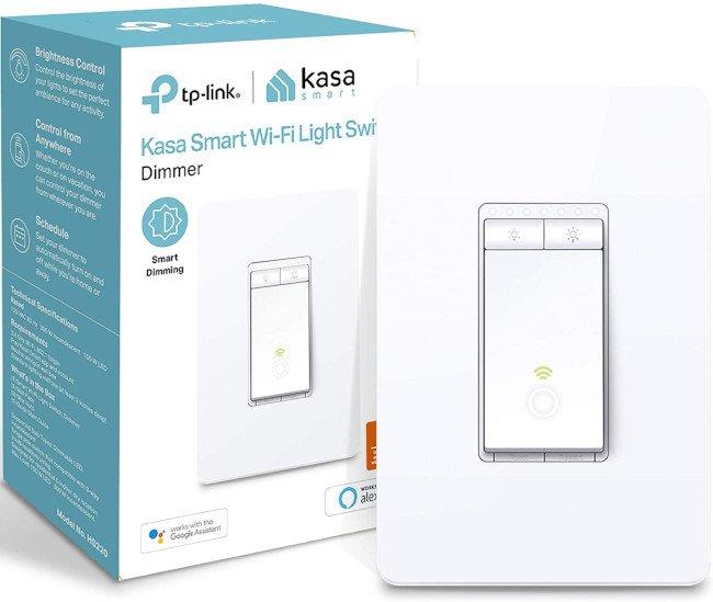 tp-link hs220 como el mejor interruptor de luz inteligente para el hogar