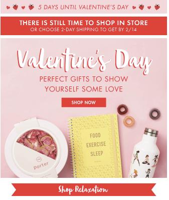 amor propio correo electrónico de San Valentín