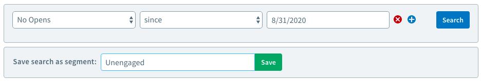 Cómo crear un segmento de correo electrónico para volver a interactuar