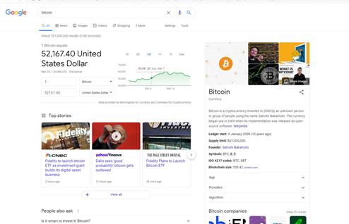 Búsqueda de Google.