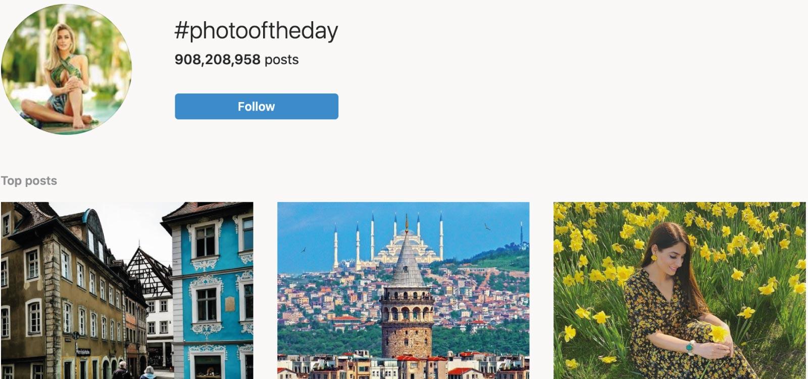 Estadísticas y hechos de Instagram - Hashtags