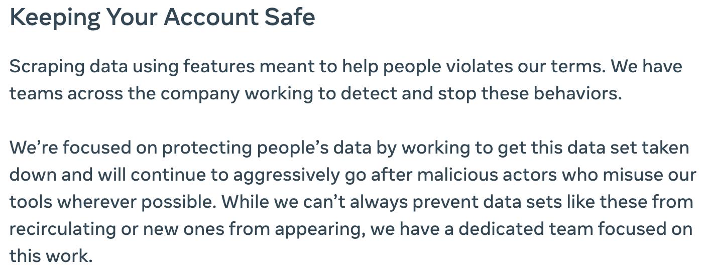 Mantener su cuenta de Facebook segura