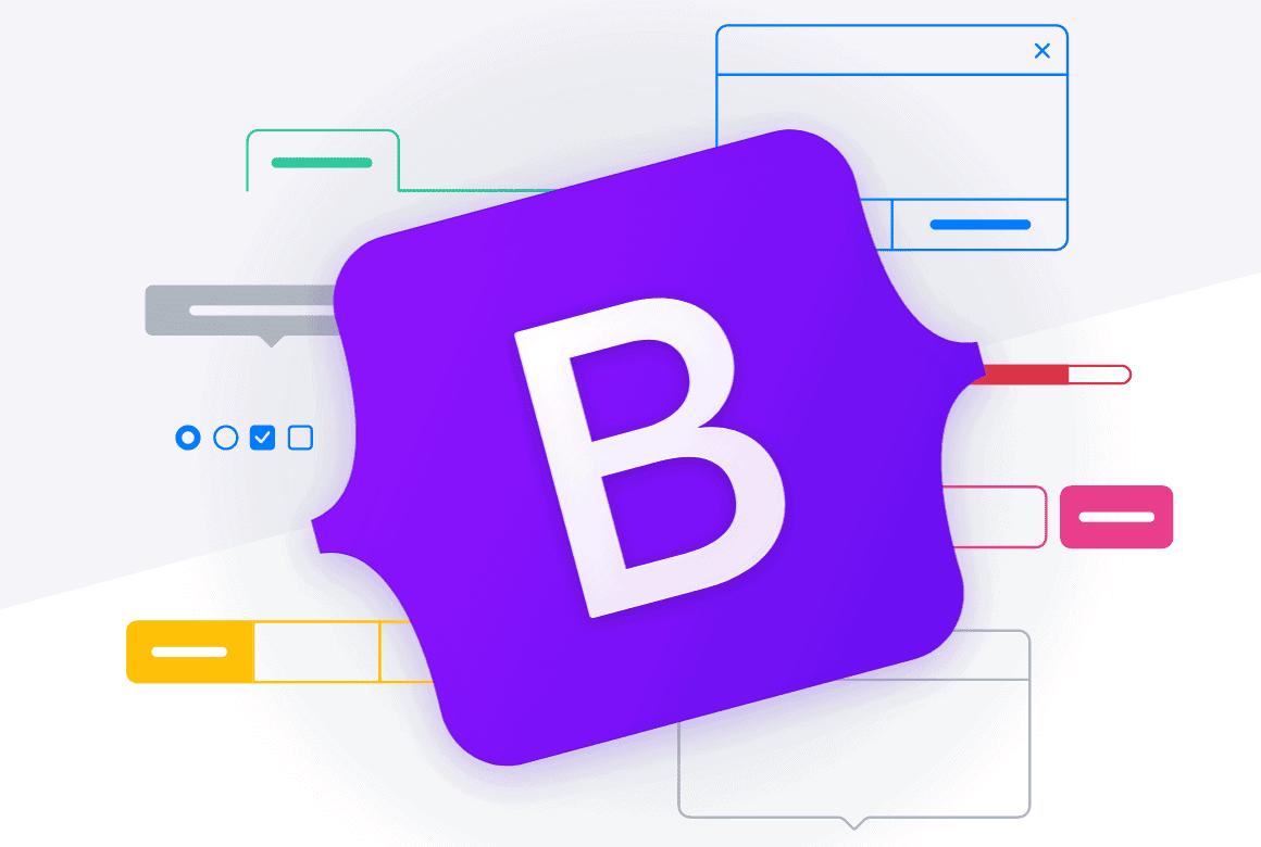 Logotipo de Bootstrap.