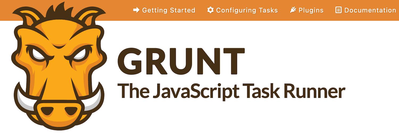 Página de inicio de Grunt.
