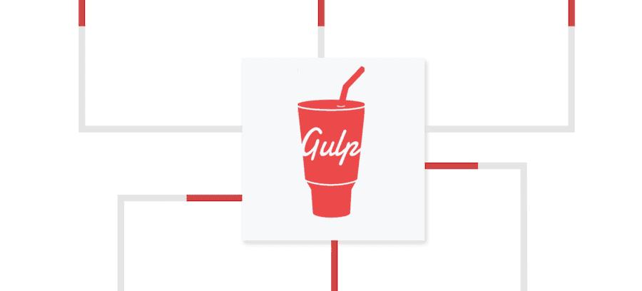 Logotipo de Gulp.