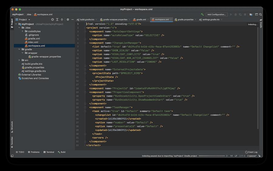 IntelliJ IDEA es un IDE de Java líder.