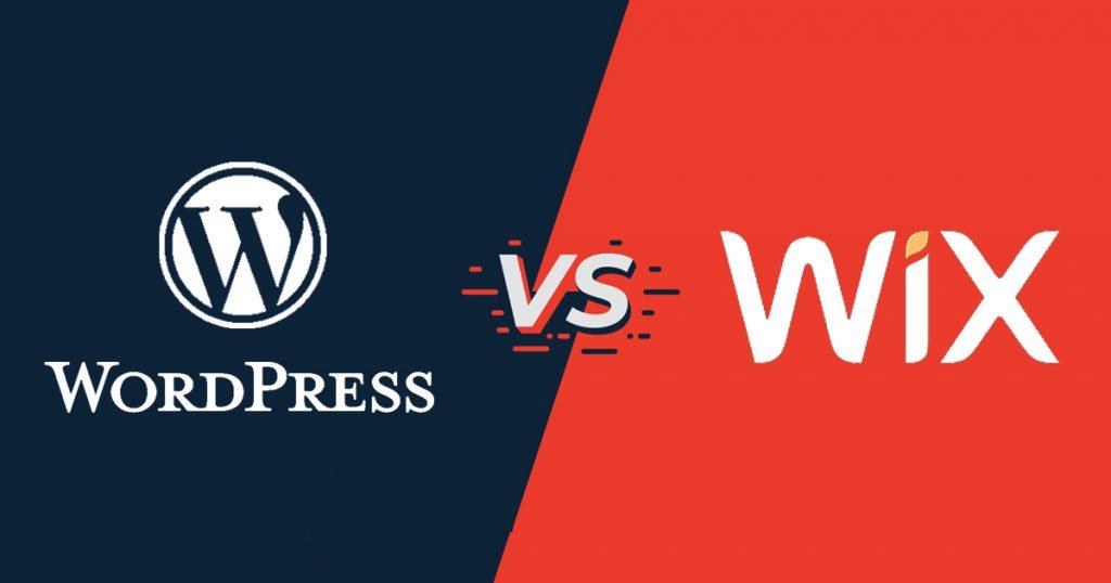 Compara wix y WordPress