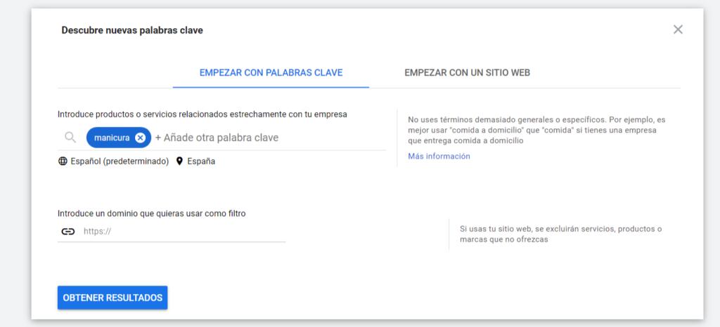 Google Keyword Planner está lanzando Parablas de forma gratuita