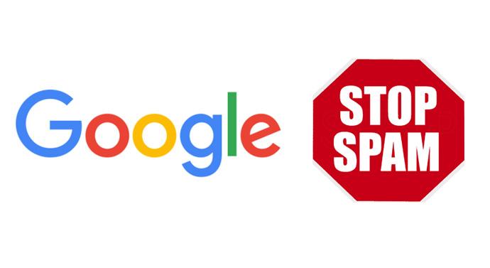Informar spam de Google