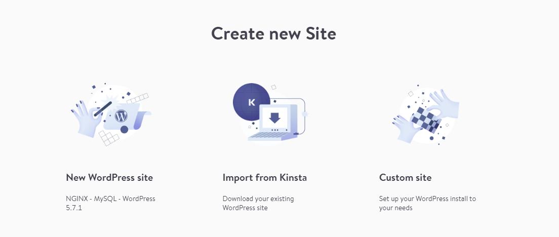 Importe el sitio web de Kinsta a un host local usando DevKinsta.