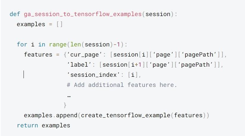 Plantilla de recopilación de datos de Google Analytics para obtener archivos de datos más grandes