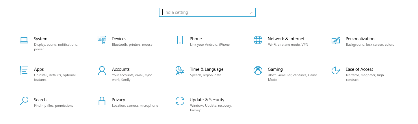 Utilice la configuración de idioma y hora de Windows.