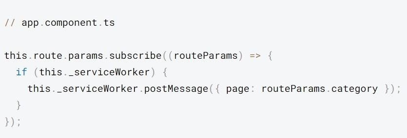 Realice un seguimiento de los cambios en los parámetros de URL.