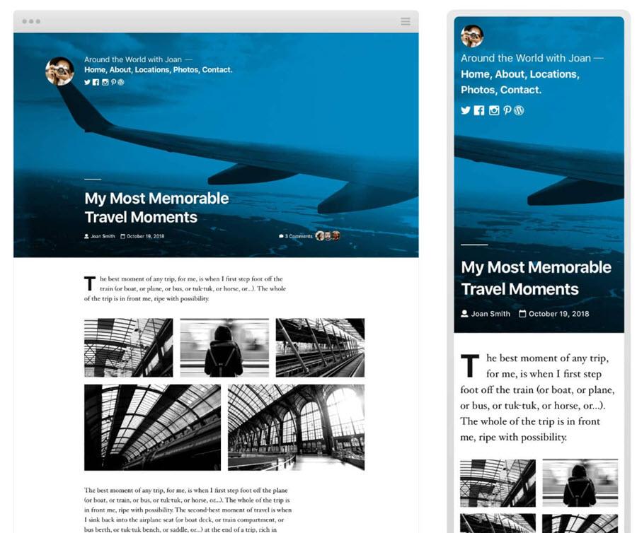 Twenty Twnety - el tema de WordPress más rápido