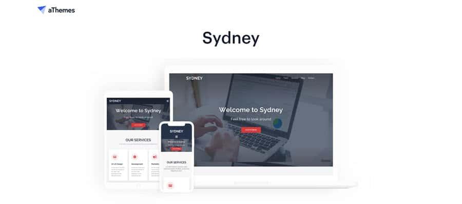 Sydney - el tema de WordPress más rápido
