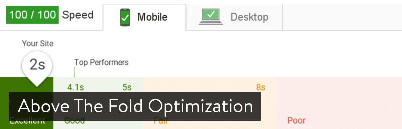 Además del complemento de WordPress optimizado y plegable