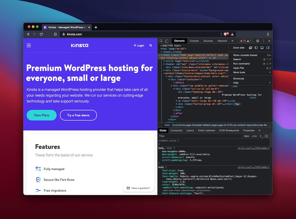 Habilite la opción Docking Edge en la herramienta Elemento.