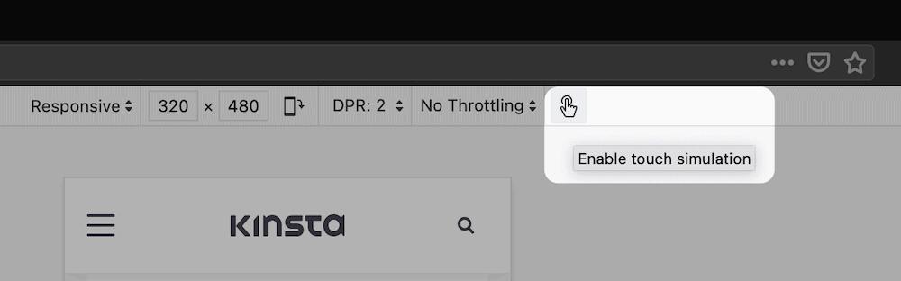 Una alternativa a la retroalimentación háptica en Firefox.