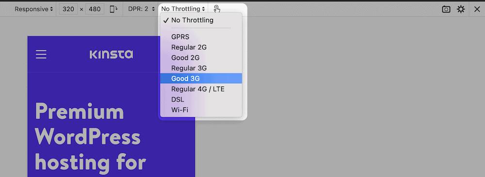 Opciones limitadas para Firefox.