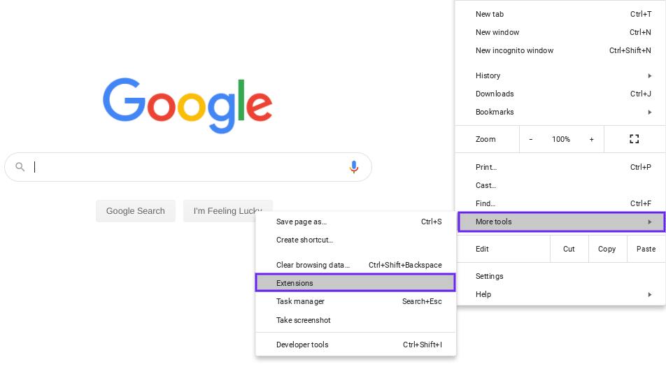 Complemento de Google Chrome