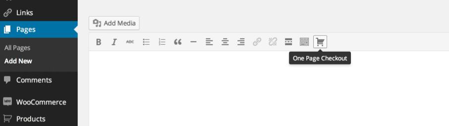 Icono de pago en la página