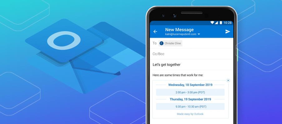 Cliente Outlook móvil