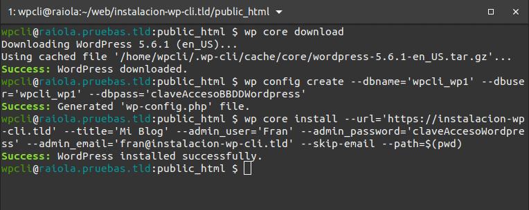 wpcli-install-wordpress