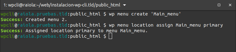 07-wpcli-configure
