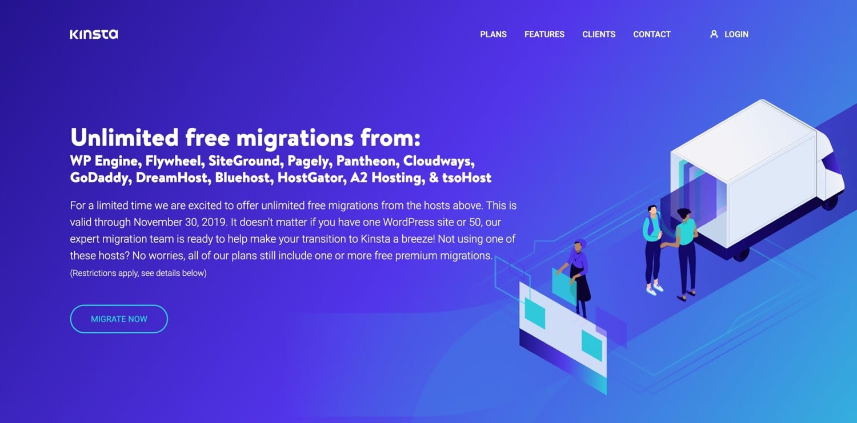Migración libre de Kinstan