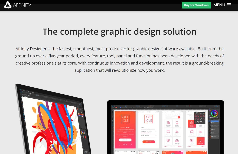Afinidad -diseñador