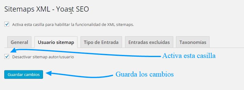 Cómo usar Yoast 2 SEO WordPress para construir un sitemap.xml