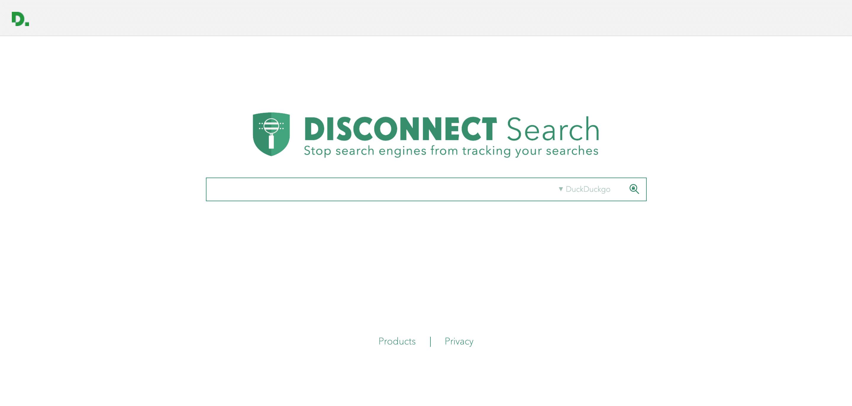 Desconectarse del motor de búsqueda