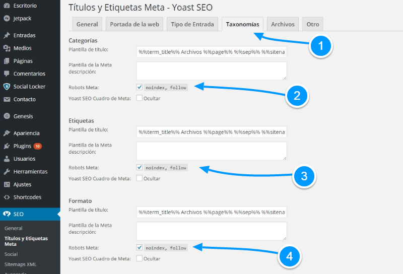 Cómo evitar el contenido duplicado en WordPress