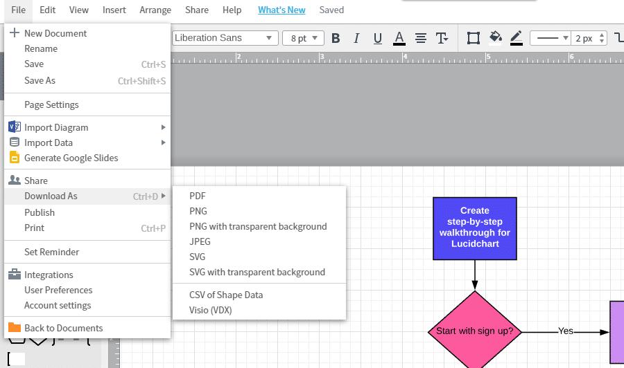 Descargar vector de diagrama de flujo