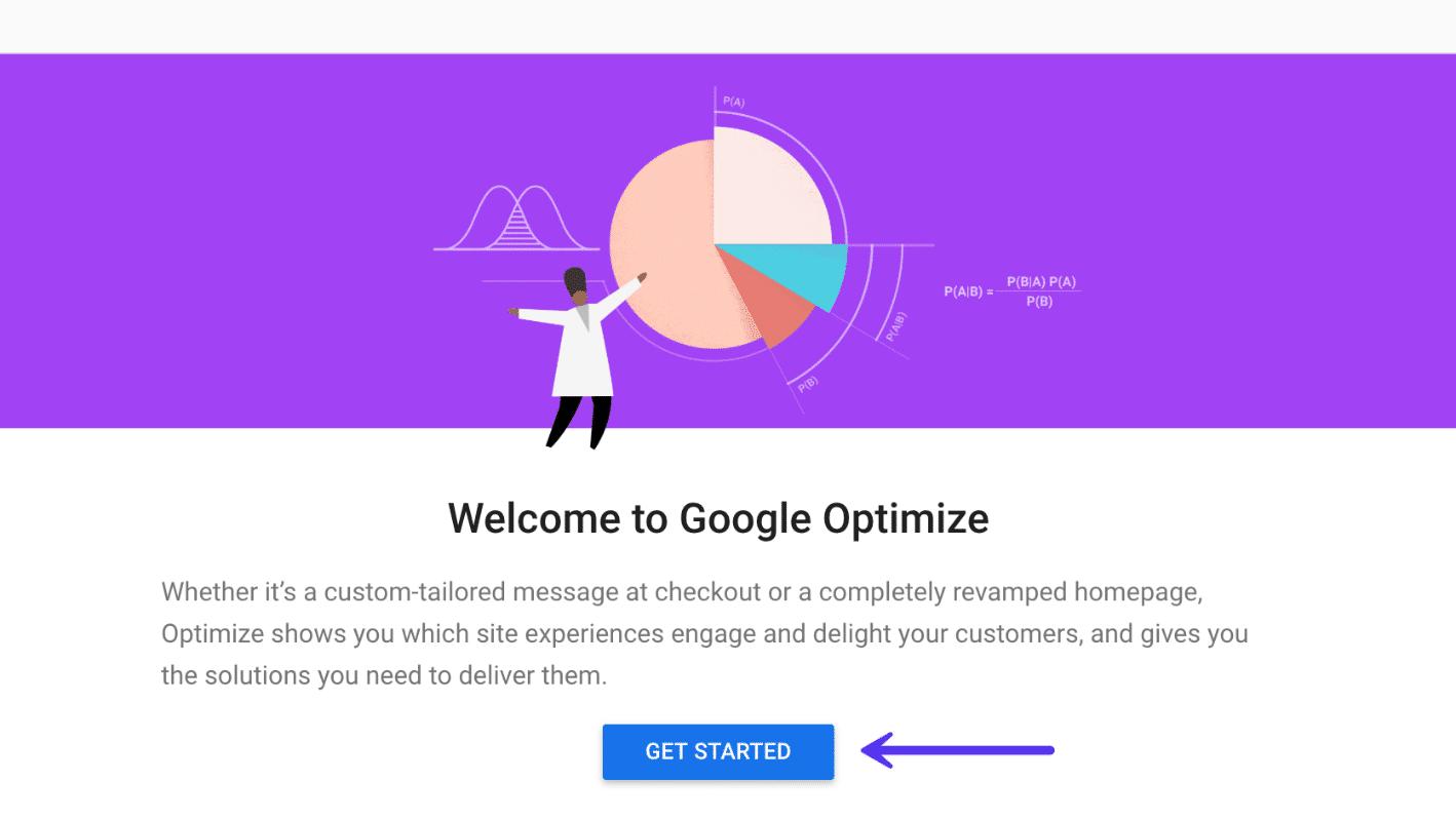 Empiece a utilizar las herramientas del Optimizador de Google