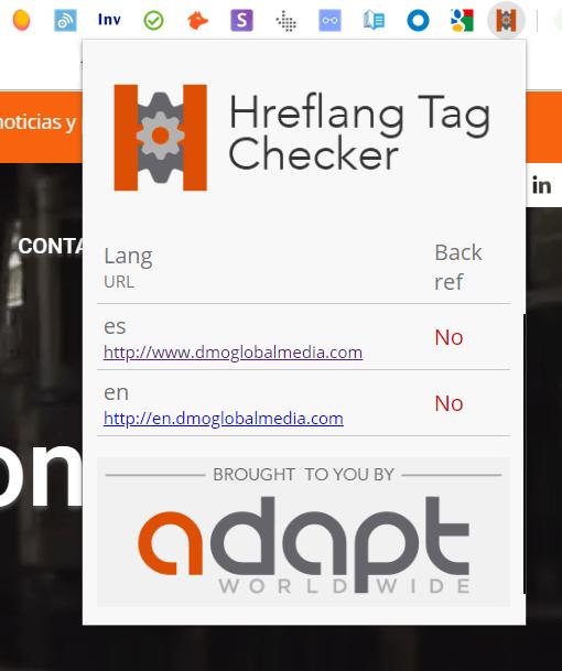 Herramienta de posicionamiento SEO internacional hreflang-Tag-Checker