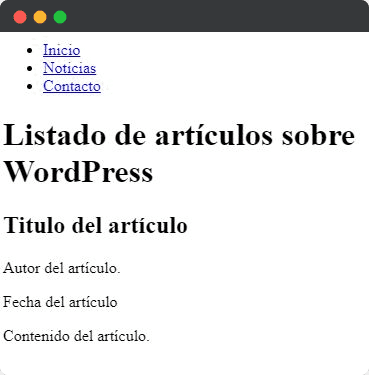 Etiquetas de encabezado HTML