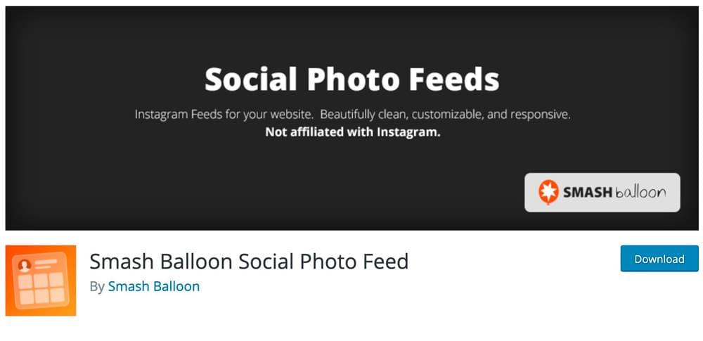 Smash the Balloon Social Photo Feed