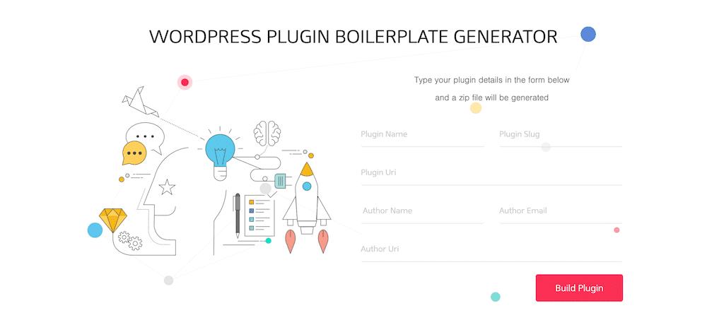 Complemento de WordPress generador de placas de caldera.