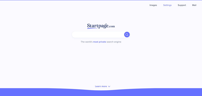 página delantera