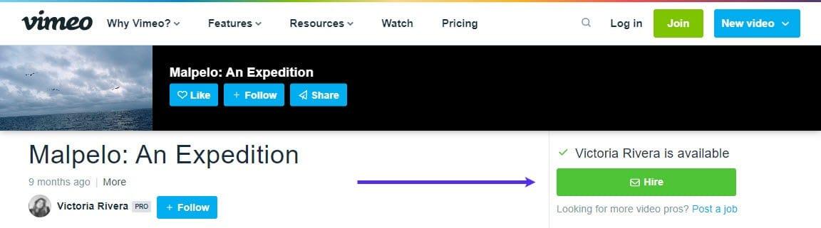 Captura de pantalla del botón