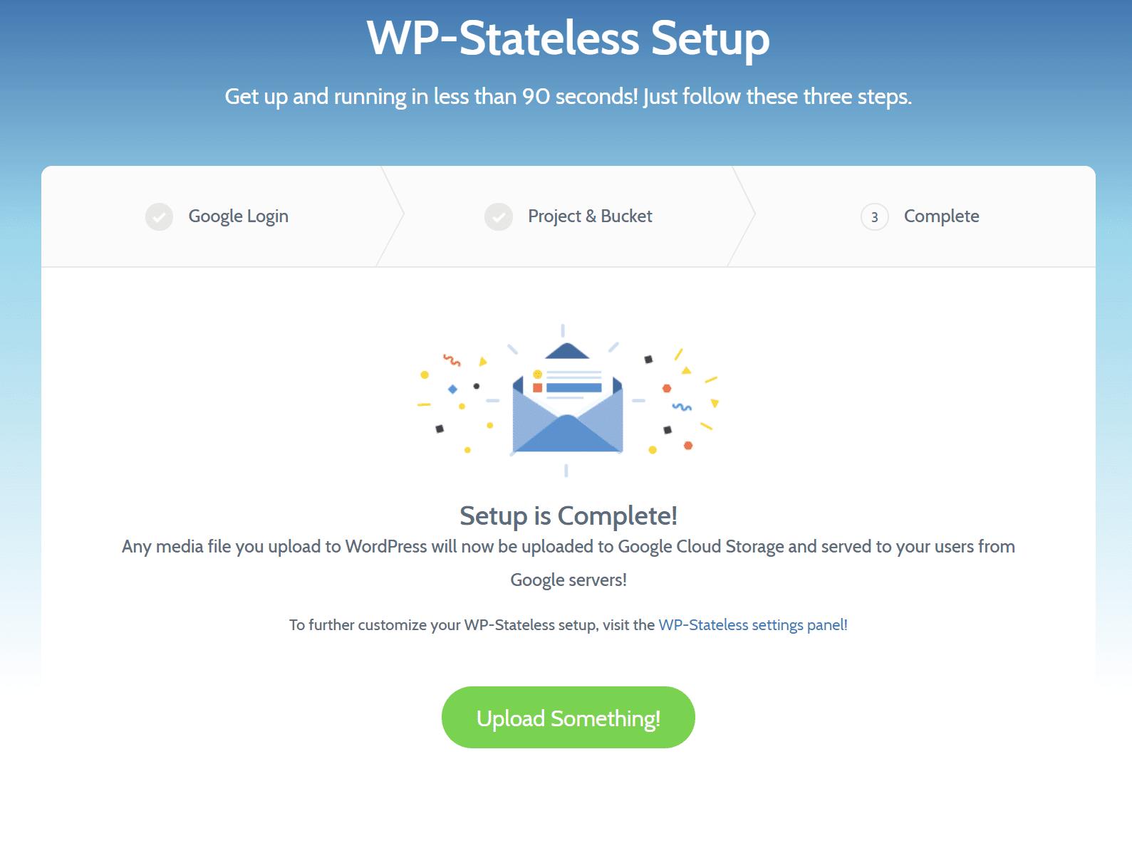 Configuración estática de WP