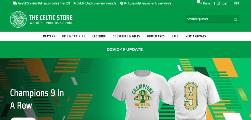 Celtics Magento