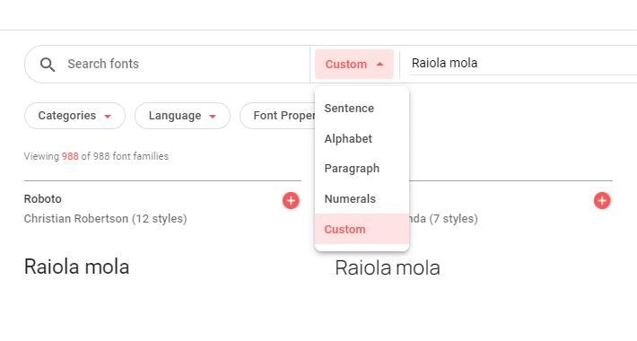 Cómo probar el directorio de fuentes de Google