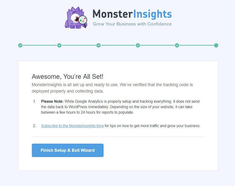 Instalación de Monsterinsights