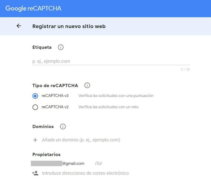 Formulario de contacto 7-recaptcha2a