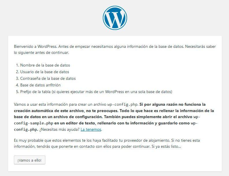 Bienvenido restaurante de WordPress