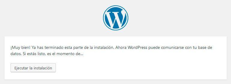 Ejecute install-wordpress-local