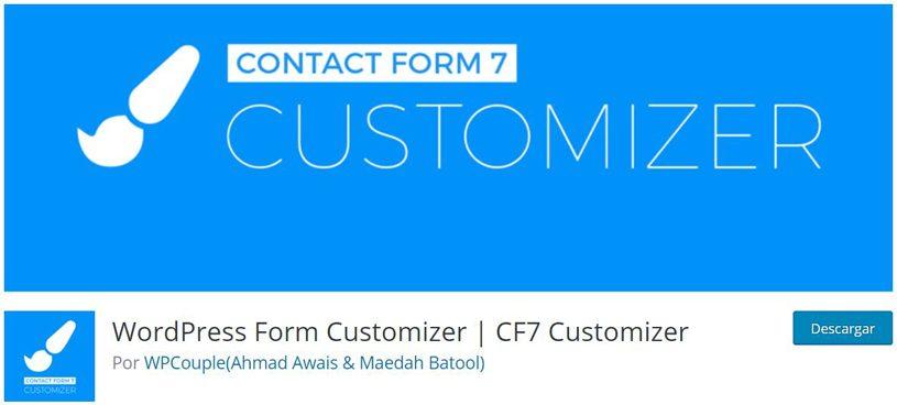 Personalización de formularios de WordPress