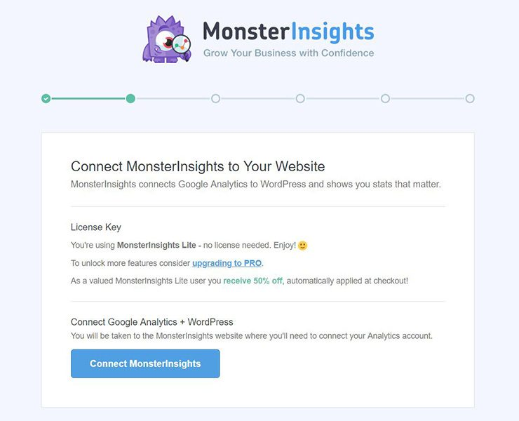 Monsterinsights-conectar-con-analíticas